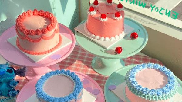 CLASS101のデザインケーキ
